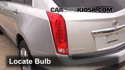 2012 Cadillac SRX Luxury 3.6L V6 FlexFuel Lights Tail Light (replace bulb)