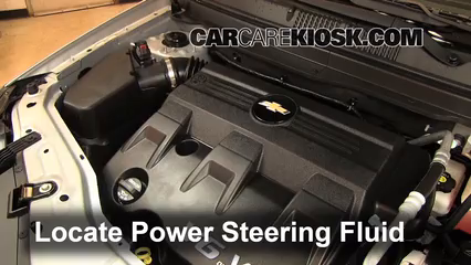 follow these steps to add power steering fluid to a 2015 chevrolet cruze engine diagram
