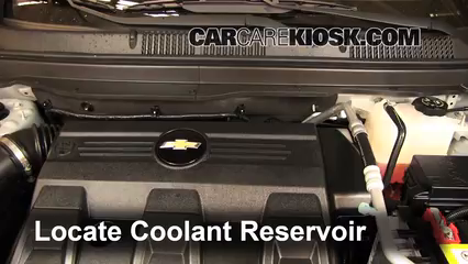 2012 Chevrolet Captiva Sport LTZ 3.0L V6 FlexFuel Coolant (Antifreeze)