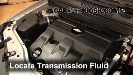 2012 Chevrolet Captiva Sport LTZ 3.0L V6 FlexFuel Transmission Fluid Add Fluid