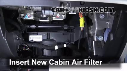 Cabin Filter Replacement: Chevrolet Equinox 2010-2017 - 2012