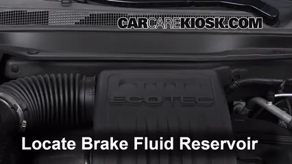 2012 Chevrolet Equinox LT 2.4L 4 Cyl. FlexFuel Brake Fluid