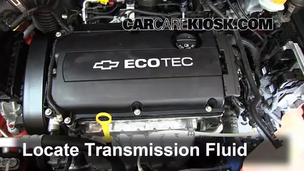 2012 Chevrolet Sonic LT 1.8L 4 Cyl. Sedan Transmission Fluid