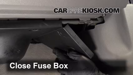 Interior Fuse Box Location 2009 2017 Chevrolet Traverse 2012