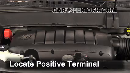 2012 Chevrolet Traverse LS 3.6L V6 Battery Jumpstart