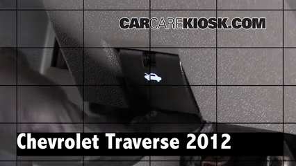 2012 Chevrolet Traverse LS 3.6L V6 Review
