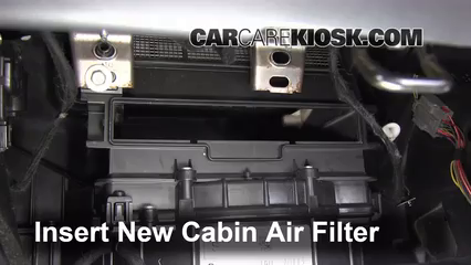 how to change cabin filter in 2016 crv