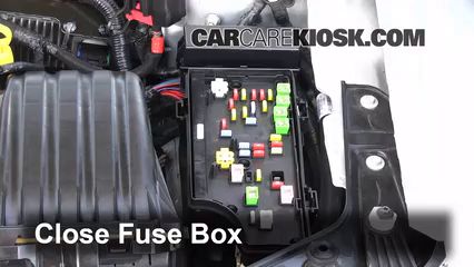 Interior Fuse Box Location 20082014 Dodge Avenger 2010 Dodge – Dodge Avenger Fuse Box Location