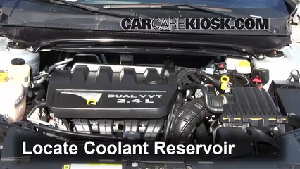 2010 Dodge Avenger SXT 2.4L 4 Cyl. Fluid Leaks