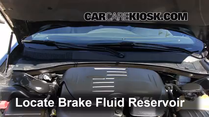 2012 Chrysler 300 Limited 3.6L V6 Brake Fluid