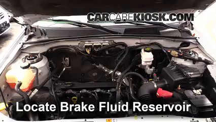 2012 Ford Escape XLT 2.5L 4 Cyl. Brake Fluid