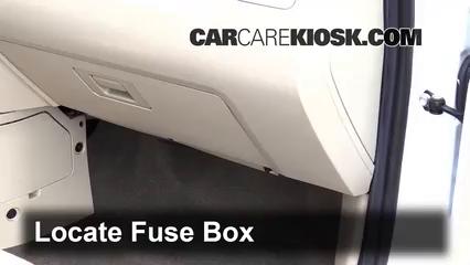 interior fuse box location: 2005-2012 ford escape