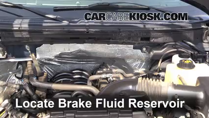 2012 Ford F-150 XLT 5.0L V8 FlexFuel Crew Cab Pickup Brake Fluid