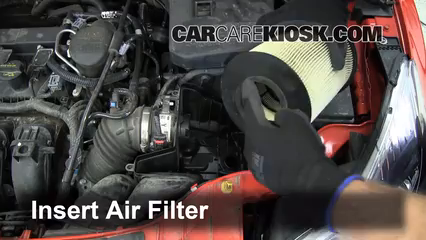air filter how-to: 2012-2017 ford focus - 2012 ford focus se 2.0l 4