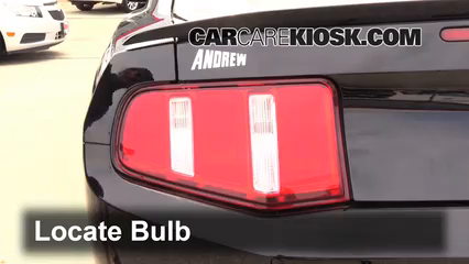 Tail Light Change 2010 2014 Ford Mustang 2012 Ford Mustang Gt 5 0l