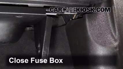interior fuse box location: 2007-2016 gmc acadia - 2012 gmc acadia sle 3 6l  v6