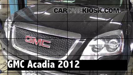 2012 GMC Acadia SLE 3.6L V6 Review