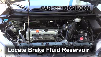 2012 Honda CR-V EX-L 2.4L 4 Cyl. Brake Fluid