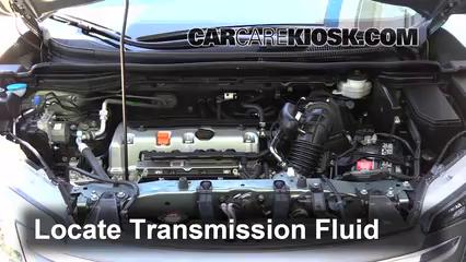 Transmission Fluid Level Check Honda CR-V (2012-2016) - 2012