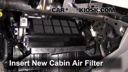 Cabin Filter Replacement: Honda Civic 2012-2015 - 2012 ...