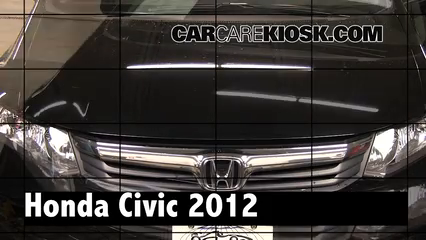 2012 Honda Civic EX-L 1.8L 4 Cyl. Sedan Review