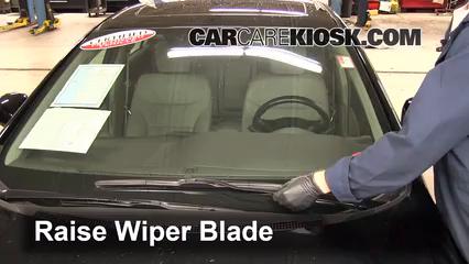 Front Wiper Blade Change Honda Civic (2012 2015)