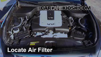 Infiniti G X L V Fair Filter Engine Part on Infiniti G35 Fuse Box Location