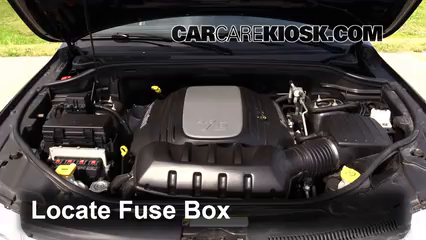 on where is the fuse box in jeep patriot