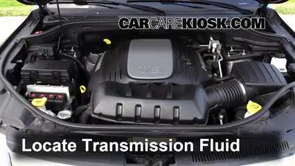 2012 Jeep Grand Cherokee Limited 5.7L V8 Transmission Fluid