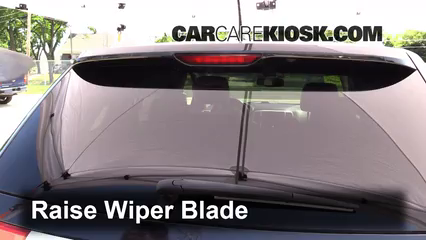 2012 Jeep Grand Cherokee Limited 5.7L V8 Windshield Wiper Blade (Rear)