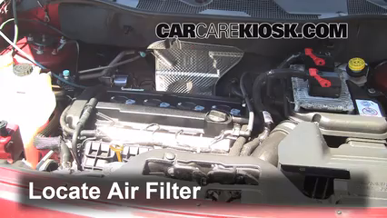 Air Filter HowTo 20072016 Jeep Patriot 2012 Jeep Patriot – Jeep Patriot 2.0 Engine Diagram
