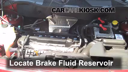 2012 Jeep Patriot Sport 2.0L 4 Cyl. Brake Fluid