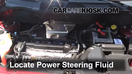 2012 Jeep Patriot Sport 2.0L 4 Cyl. Power Steering Fluid