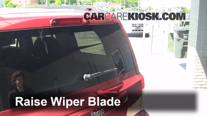 2012 Jeep Patriot Sport 2.0L 4 Cyl. Windshield Wiper Blade (Rear)