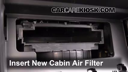 Cabin Filter Replacement Kia Sorento 2011 2013 2012 Kia