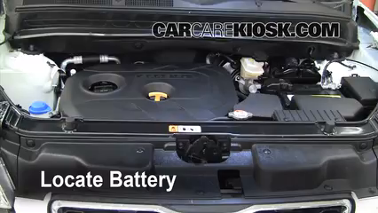 2012 Kia Soul ! 2.0L 4 Cyl. Battery Replace