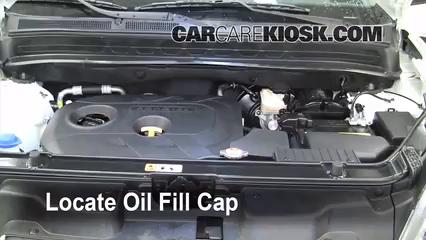Kia Soul Oil Type >> How To Add Oil Kia Soul 2010 2013 2012 Kia Soul 2 0l 4