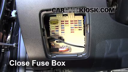 interior fuse box location 2011 2016 kia sportage 2012. Black Bedroom Furniture Sets. Home Design Ideas