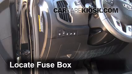Fuse Interior Part 1 interior fuse box location 2011 2016 kia sportage 2012 kia Nissan Xterra Fuse Box Diagram at alyssarenee.co