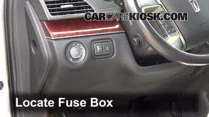 interior fuse box location: 2010-2017 lincoln mkt - 2012 ... lincoln mkt fuse box diagram lincoln mkt fuse box location #1