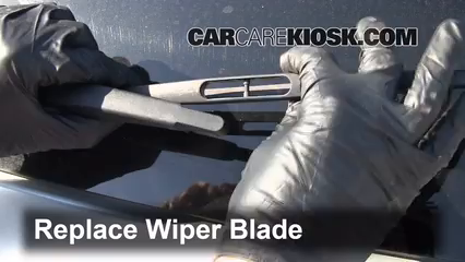 how to change rear wiper blade on 2012 honda odyssey