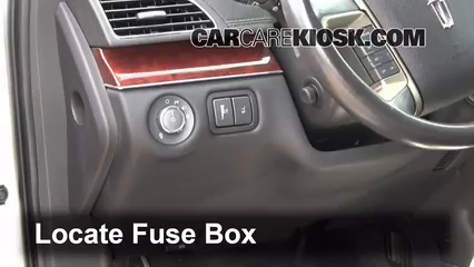 Fuse Interior Part 1 interior fuse box location 2010 2016 lincoln mkt 2012 lincoln 2014 lincoln mkz fuse box location at virtualis.co
