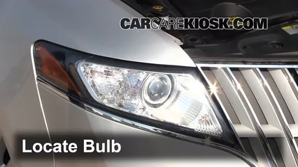 2012 Lincoln MKT 3.7L V6 Lights Parking Light (replace bulb)