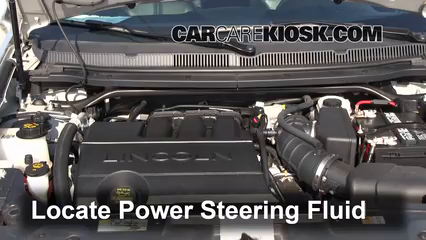 Locate The Power Steering Fluid Reservoir