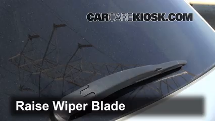 Rear Wiper Blade Change Lincoln Mkt