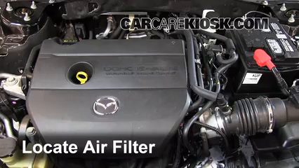 2012 Mazda 6 i 2.5L 4 Cyl. Air Filter (Engine)