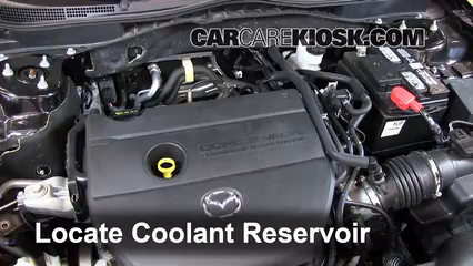2012 Mazda 6 i 2.5L 4 Cyl. Coolant (Antifreeze)