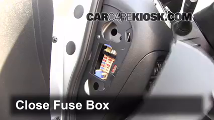 interior fuse box location 2011 2017 nissan juke 2012. Black Bedroom Furniture Sets. Home Design Ideas