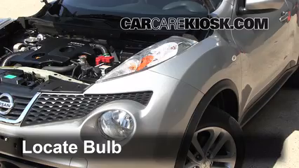 Headlight Change 2011-2017 Nissan Juke - 2012 Nissan Juke S