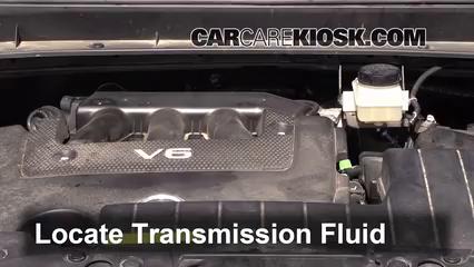 2006 nissan murano cvt transmission fluid change